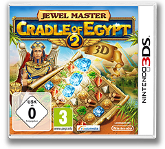 Jewel Master - Cradle of Egypt 2 3D 3DS cover (AJEP)