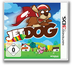 Jet Dog 3DS cover (AJTP)