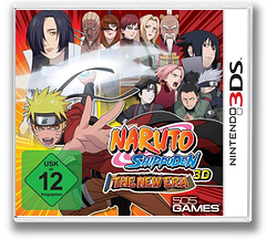 Naruto Shippuden 3D - The New Era 3DS cover (ANTF)