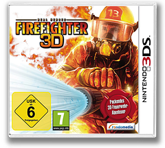 Real Heroes - Firefighter 3D 3DS cover (ARHP)