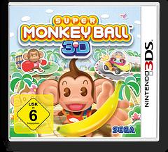 Super Monkey Ball 3D 3DS cover (ASMP)