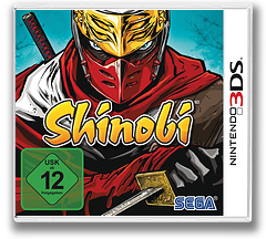 Shinobi 3DS cover (ASVP)