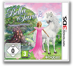 Bella Sara 2 3DS cover (AY7P)