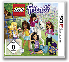 LEGO Friends 3DS cover (AZJP)