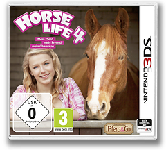 Horse Life 4 3DS cover (BH4P)