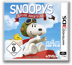 The Peanuts Movie - Snoopy's Grand Adventure 3DS cover (BPEP)