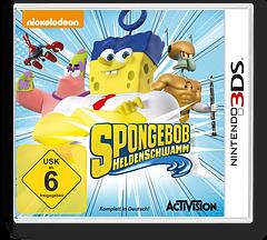 SpongeBob HeroPants 3DS cover (BPNP)