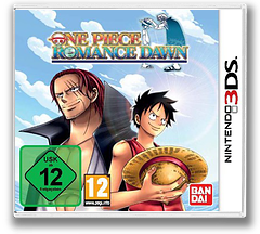 One Piece - Romance Dawn 3DS cover (BRDP)