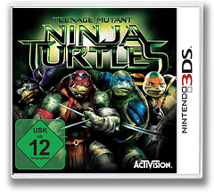 Teenage Mutant Ninja Turtles 3DS cover (BTWP)