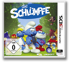 The Smurfs 3DS cover (BUSP)