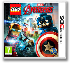 LEGO Marvel's Avengers 3DS cover (ALEP)