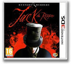 Mystery Murders - Jack the Ripper 3DS cover (AAJP)