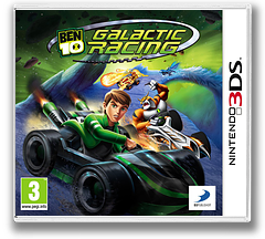 Ben 10 - Galactic Racing 3DS cover (ABNP)