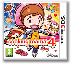 Cooking Mama 4 3DS cover (ACQP)