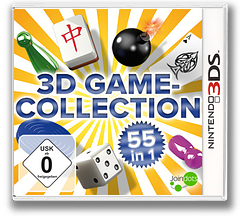 3D Game Collection - 55 in 1 3DS cover (AD3D)