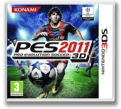 Pro Evolution Soccer 2011 3D 3DS cover (AEEP)