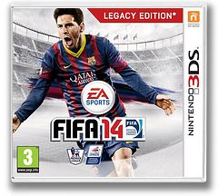 FIFA 14 - Legacy Edition 3DS cover (AFYP)