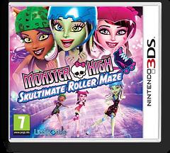 Monster High - Skultimate Roller Maze 3DS cover (AH5P)