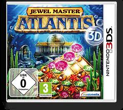 Jewel Master - Atlantis 3D 3DS cover (AJ5X)
