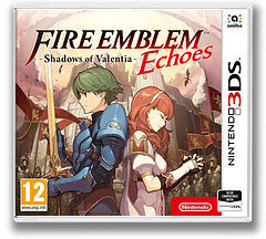 Fire Emblem Echoes: Shadows of Valentia 3DS cover (AJJP)