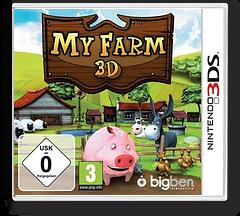 My Farm 3D 3DS cover (ANJP)