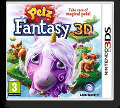 Petz Fantasy 3D 3DS cover (APFP)