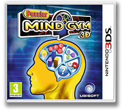 Puzzler Mind Gym 3D 3DS cover (APUP)