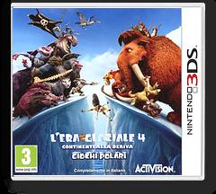 L'Era Glaciale 4 - Continenti alla Deriva - Giochi Polari 3DS cover (AQLI)