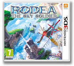 Rodea - The Sky Soldier 3DS cover (AR6P)