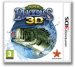 Super Black Bass 3D 3DS cover (ASBP)