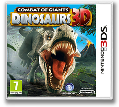 Combat of Giants - Dinosaurs 3D 3DS cover (ATTP)