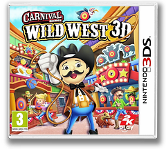 Carnival Games - Wild West 3D 3DS cover (AW2P)