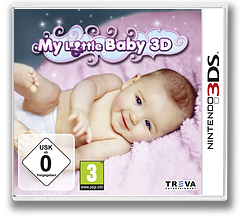 My Little Baby 3D 3DS cover (AYYP)