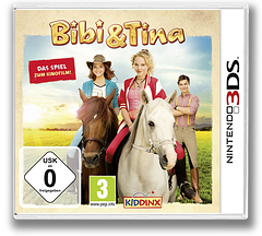 Bibi & Tina - Das Spiel zum Kinofilm 3DS cover (BBTD)