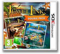 Jewel Link Double Pack - Safari Quest and Atlantic Quest 3DS cover (BJLP)