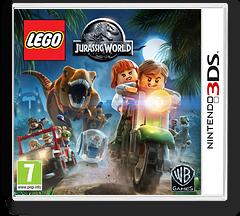 LEGO Jurassic World 3DS cover (BLJX)