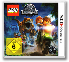 LEGO Jurassic World 3DS cover (BLJZ)