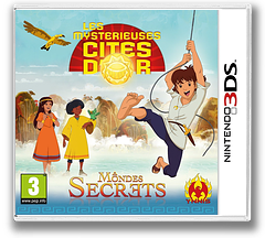 The Mysterious Cities of Gold - Secret Paths 3DS cover (BMCP)