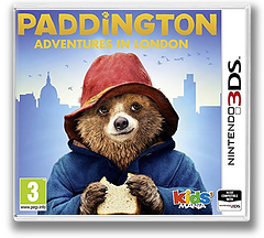Paddington - Adventures in London 3DS cover (BPLP)
