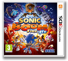 Sonic Boom: Fire & Ice 3DS cover (BS6P)
