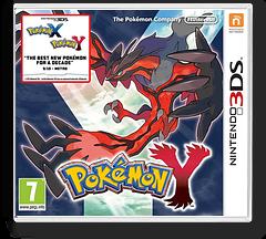 Pokémon Y 3DS cover (EK2A)