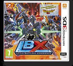 LBX - Little Battlers eXperience 3DS cover (ADNZ)
