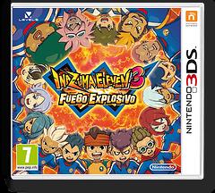 Inazuma Eleven 3 - Bomb Blast 3DS cover (AXBZ)