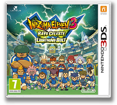 Inazuma Eleven 3 - Lightning Bolt 3DS cover (AXSZ)