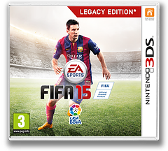 FIFA 15 - Legacy Edition 3DS cover (BFTP)