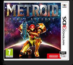 Metroid: Samus Returns pochette 3DS (A9AP)
