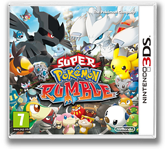 Super Pokémon Rumble pochette 3DS (ACCP)