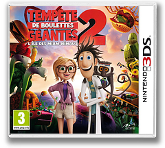 Cloudy with a Chance of Meatballs 2 pochette 3DS (AD5Z)