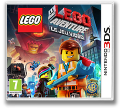The LEGO Movie Videogame pochette 3DS (AFJD)