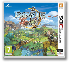 Fantasy Life pochette 3DS (AFLP)